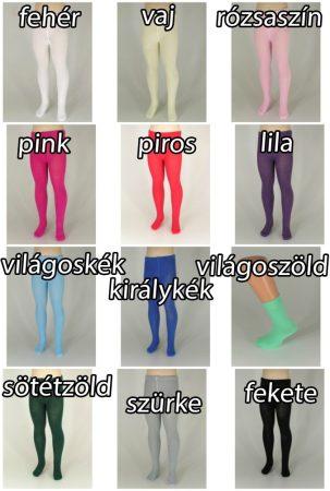 Harisnya nadrág egyszínű - pamut 3. méret