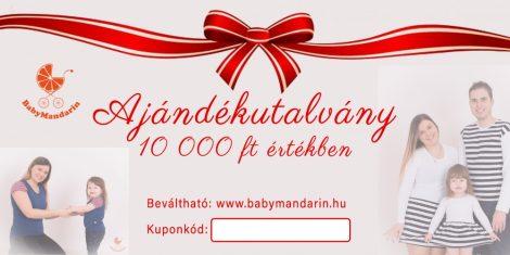 Ajándékutalvány 10 000 Ft