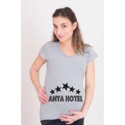 Kismama póló (mintás, feliratos) - Anya Hotel