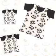 Anya- két fia póló szett - pandás
