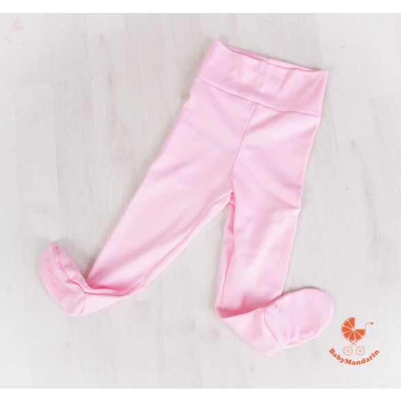 Lábfejes baba nadrág