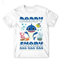 Daddy Shark póló- DADDY SHARK APA  férfi póló