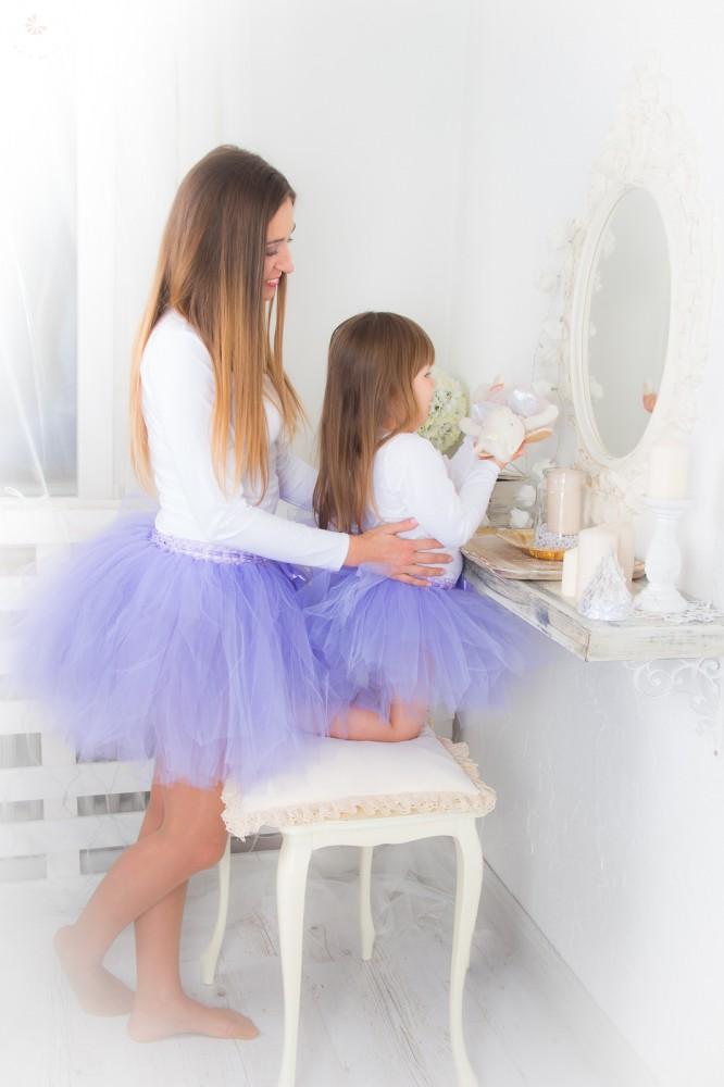 907e017625 Bérelhető anya-lánya tüllszoknya szett LILA - BabyMandarin - Saját ...