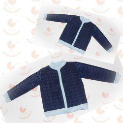 Anya - fia  tavaszi kabát szett pamut béléssel