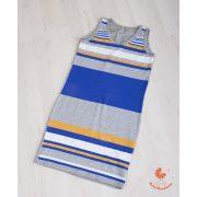Tini ruha - kék csíkos
