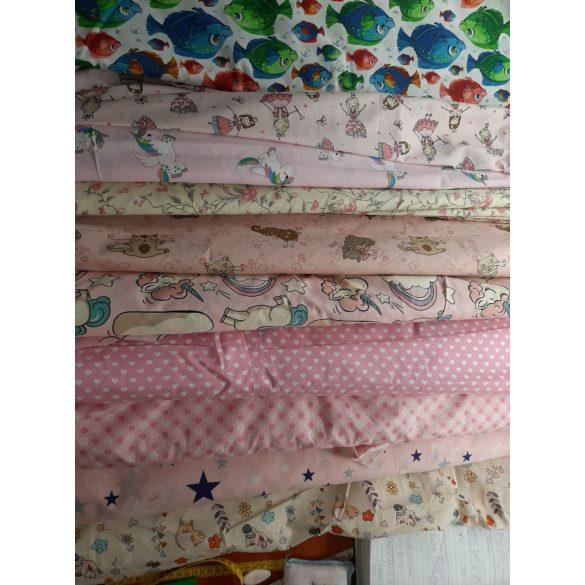 Textil maszk, két rétegű pamutvászon
