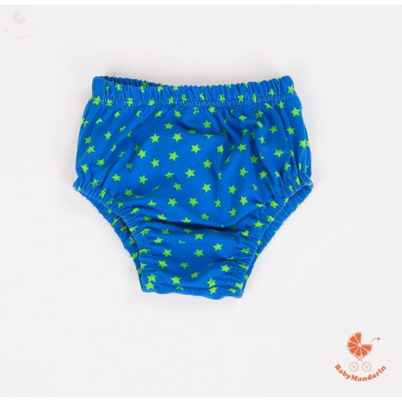 Pelenkatakaró bugyi - kék csillagos