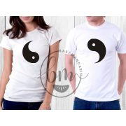 Szerelmespár póló szett (Yin és Yang) Valentin napi póló szett