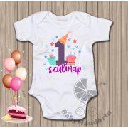 Első szülinap - születésnapos body