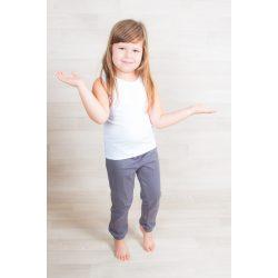 Kényelmes téli gyerek nadrág egyszínű, gyermek ovis nadrág, bölcsis nadrág BOLYHOS BELSŐVEL