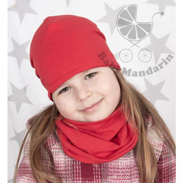 Tavaszi, átmeneti egyszínű rugalmas pamut SÁL (csak sál!!!) gyerek sál, gyermek csősál