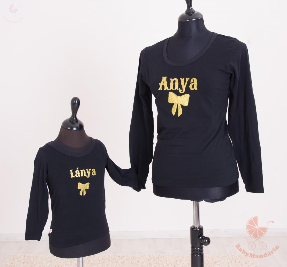 e3f7675f41 Anya lánya póló szett -masnis - BabyMandarin - Saját kollekciós ...
