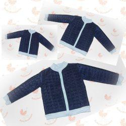 Anya - két fia  tavaszi kabát szett pamut béléssel