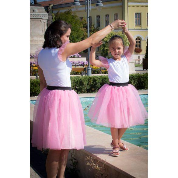 Anya lánya tüllszoknya szett, anya lánya szoknya szett (FELSŐ NÉLKÜL)
