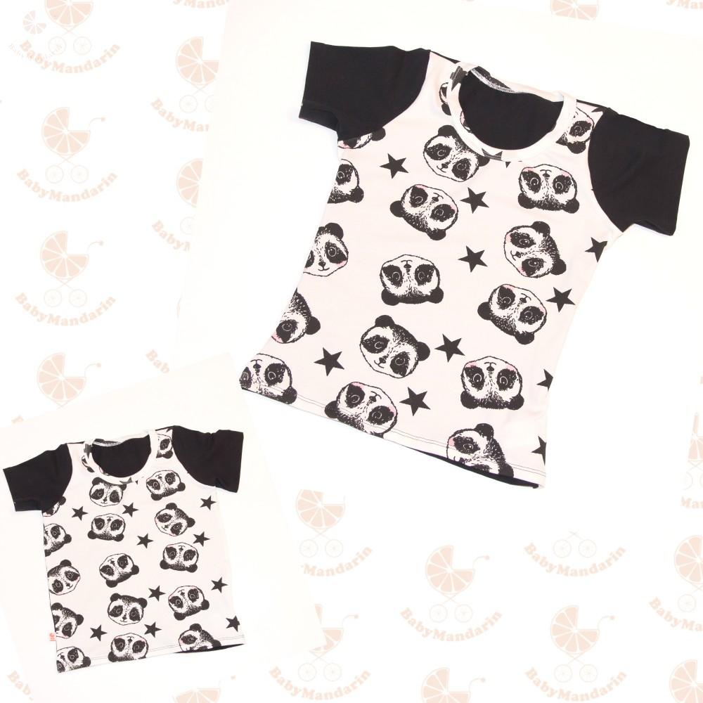 793235894aa Anya fia póló szett - pandás - BabyMandarin - Saját kollekciós ...