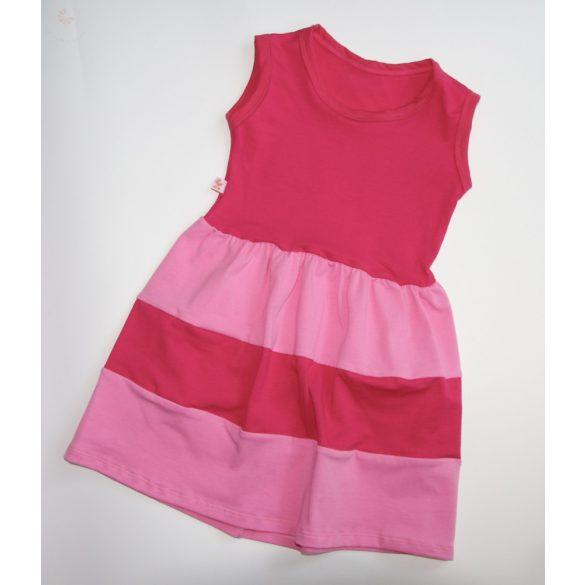 Gyerek ruha, baba ruha (pink-rózsaszín)