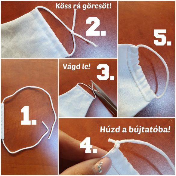 Designer textil maszk, egyedi maszk - KOBOLD