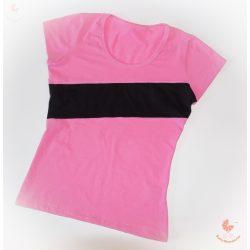 Baba póló csíkkal -választható színösszeállítás
