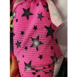 Pelenkatakaró bugyi - pink csillagos