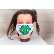 Designer textil maszk, egyedi maszk - vírus