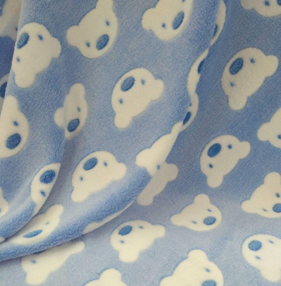 Wellsoft pihe-puha téli baba takaró - kék macis - BabyMandarin ... 6121c52628
