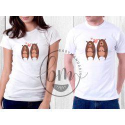 Szerelmespár póló szett (Love you forever) Valentin napi póló szett