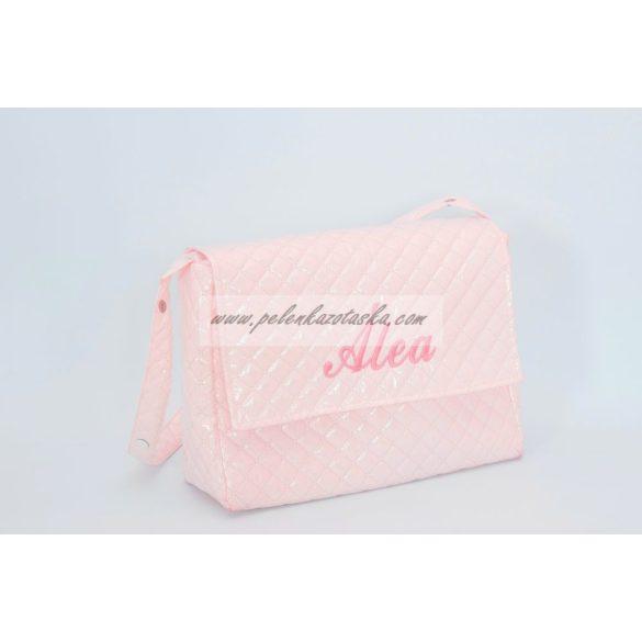 Plasztik pelenkázótáska - Rózsaszín