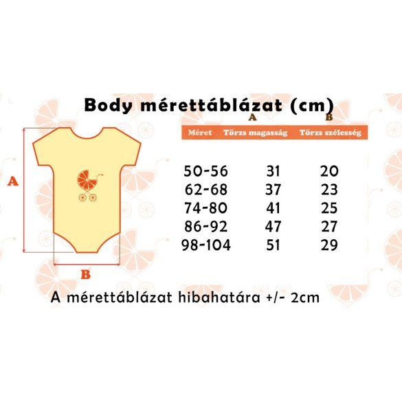 Body Jr. feliattal - Választható színek