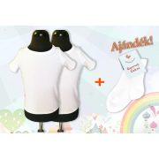 2 db óvodai torna póló ajándék fehér zoknival
