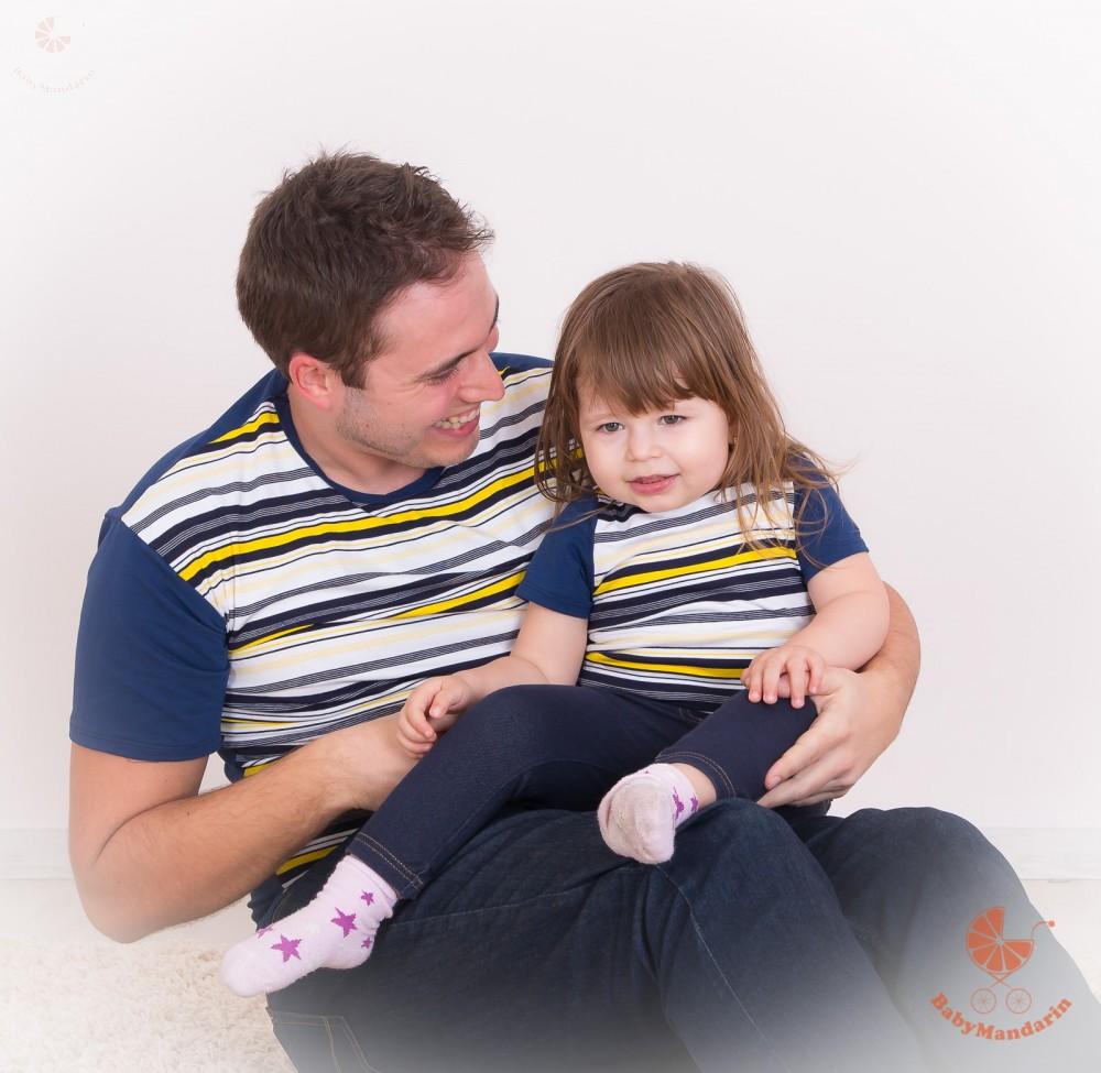 eb848f81c9 Apa lánya póló szett - BabyMandarin - Saját kollekciós családi ...