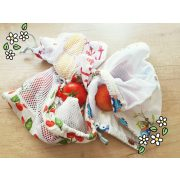 Öko zacskó, újrazsacsó, vászon bevásárló zacskó