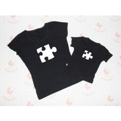 Anya gyerek póló szett - puzzle