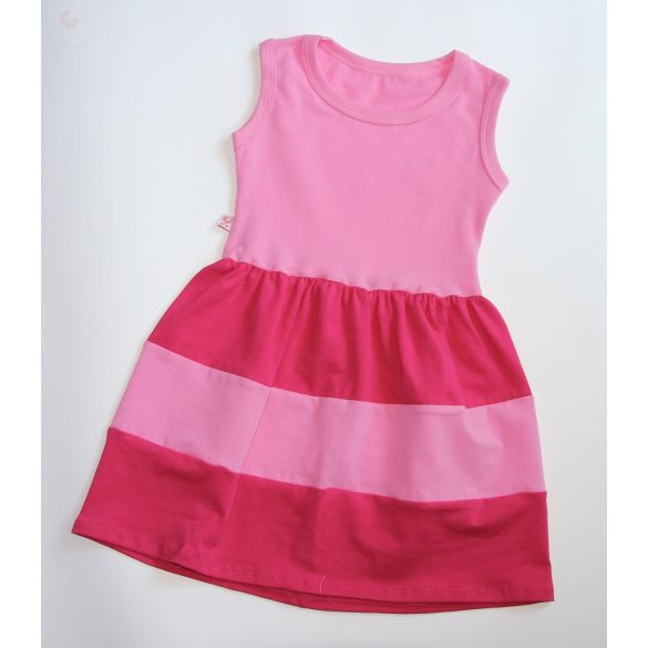 Gyerek ruha, baba ruha (rózsaszín-pink)