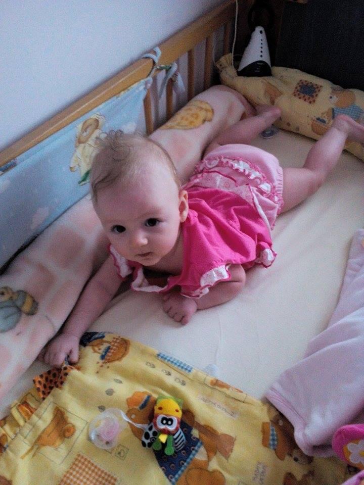 Kinga baba a bugyikában